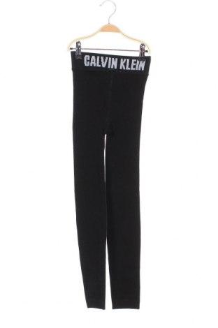 Дамски клин Calvin Klein, Размер S, Цвят Черен, 63% памук, 34% полиамид, 3% еластан, Цена 66,75лв.