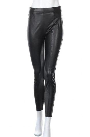 Γυναικείο κολάν Comma,, Μέγεθος S, Χρώμα Μαύρο, Κλωστοϋφαντουργικά προϊόντα, δερματίνη, Τιμή 44,78€