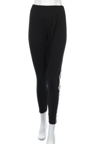 Γυναικείο κολάν Missguided, Μέγεθος XL, Χρώμα Μαύρο, 49% πολυεστέρας, 46% βαμβάκι, 5% ελαστάνη, Τιμή 16,24€