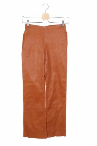 Γυναικείο παντελόνι δερμάτινο In Wear, Μέγεθος XS, Χρώμα Καφέ, Γνήσιο δέρμα, Τιμή 100,26€