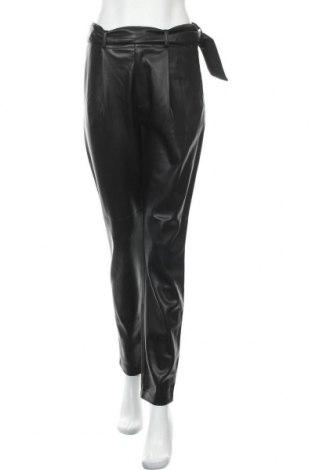 Дамски кожен панталон Dorothy Perkins, Размер M, Цвят Черен, Еко кожа, Цена 33,92лв.