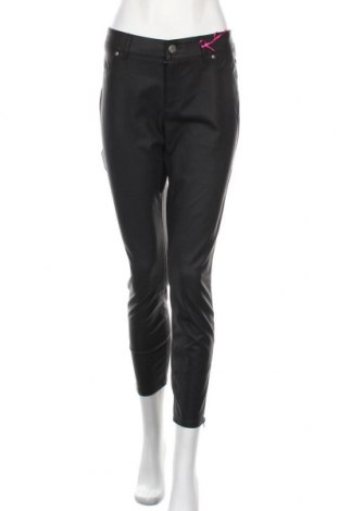 Дамски кожен панталон Melrose, Размер L, Цвят Черен, Еко кожа, Цена 40,12лв.