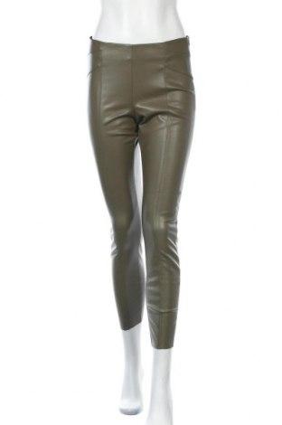 Γυναικείο παντελόνι δερμάτινο ONLY, Μέγεθος S, Χρώμα Πράσινο, Δερματίνη, Τιμή 21,08€