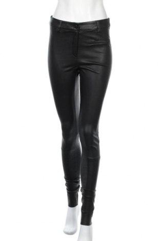 Дамски кожен панталон Selected Femme, Размер M, Цвят Черен, Естествена кожа, Цена 152,57лв.