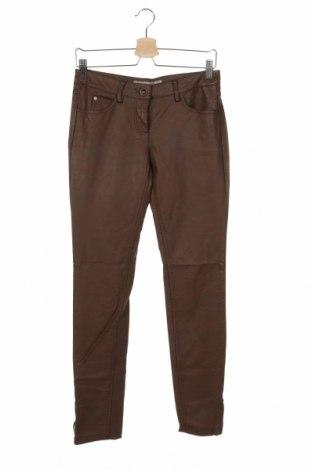 Γυναικείο παντελόνι δερμάτινο Tom Tailor, Μέγεθος S, Χρώμα Καφέ, Δερματίνη, Τιμή 13,31€