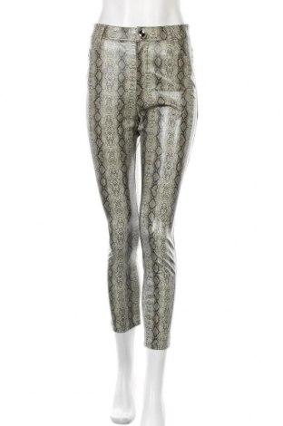 Γυναικείο παντελόνι δερμάτινο Zara, Μέγεθος S, Χρώμα Πολύχρωμο, Δερματίνη, Τιμή 21,65€