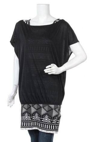 Γυναικείο σετ Ajc, Μέγεθος L, Χρώμα Μαύρο, 95% βισκόζη, 5% ελαστάνη, Τιμή 11,47€