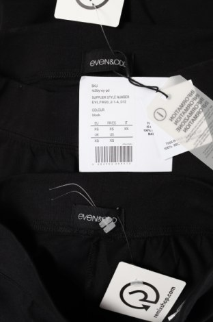 Дамски комплект Even&Odd, Размер XS, Цвят Черен, 95% памук, 5% еластан, Цена 33,60лв.