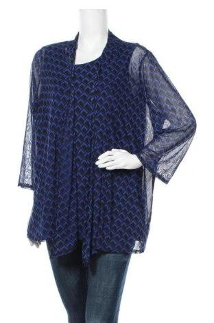 Γυναικείο σετ Liz Jordan, Μέγεθος XL, Χρώμα Μπλέ, Πολυεστέρας, ελαστάνη, Τιμή 12,34€