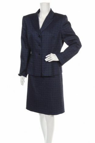 Γυναικείο κοστούμι Tahari By Arthur S. Levine, Μέγεθος XL, Χρώμα Μπλέ, 50% πολυεστέρας, 47% βισκόζη, 3% πολυουρεθάνης, Τιμή 40,82€