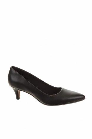 Дамски обувки Clarks, Размер 38, Цвят Черен, Естествена кожа, Цена 109,62лв.