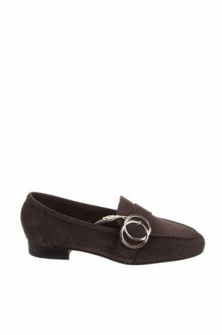 Дамски обувки Esprit, Размер 36, Цвят Сив, Естествен велур, Цена 30,62лв.