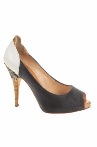 Дамски обувки Giuseppe Zanotti, Размер 37, Цвят Син, Текстил, естествена кожа, Цена 87,60лв.