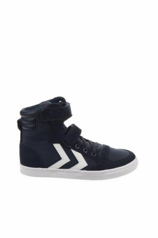 Γυναικεία παπούτσια Hummel, Μέγεθος 35, Χρώμα Μπλέ, Κλωστοϋφαντουργικά προϊόντα, φυσικό σουέτ, Τιμή 30,62€