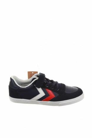 Γυναικεία παπούτσια Hummel, Μέγεθος 36, Χρώμα Μπλέ, Δερματίνη, φυσικό σουέτ, Τιμή 30,62€