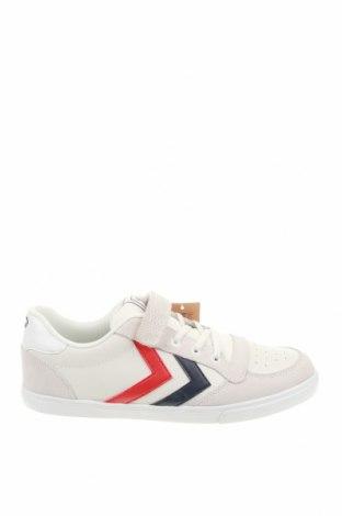 Γυναικεία παπούτσια Hummel, Μέγεθος 40, Χρώμα Λευκό, Γνήσιο δέρμα, Τιμή 36,80€