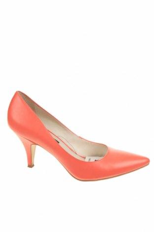 Dámské boty  Mango, Velikost 38, Barva Růžová, Pravá kůže, Cena  503,00Kč