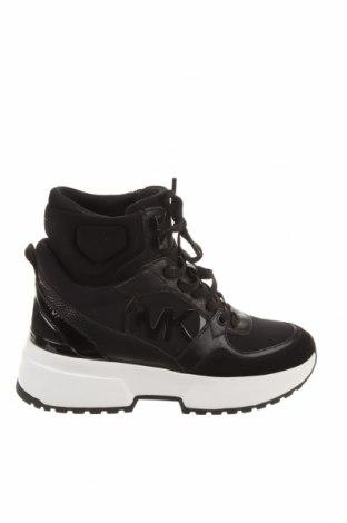 Дамски обувки Michael Kors, Размер 35, Цвят Черен, Текстил, естествена кожа, естествен велур, Цена 250,92лв.
