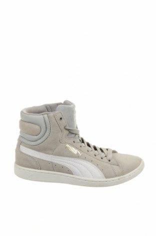Γυναικεία παπούτσια PUMA, Μέγεθος 36, Χρώμα Γκρί, Φυσικό σουέτ, δερματίνη, Τιμή 28,95€
