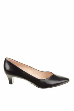 Γυναικεία παπούτσια Peter Kaiser, Μέγεθος 38, Χρώμα Μαύρο, Γνήσιο δέρμα, Τιμή 67,73€