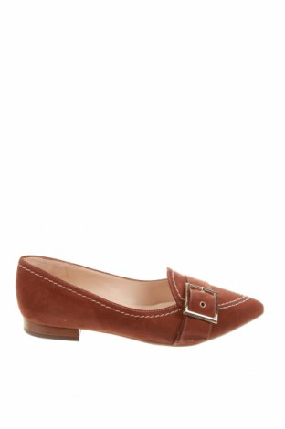 Γυναικεία παπούτσια Peter Kaiser, Μέγεθος 35, Χρώμα Καφέ, Φυσικό σουέτ, Τιμή 70,82€