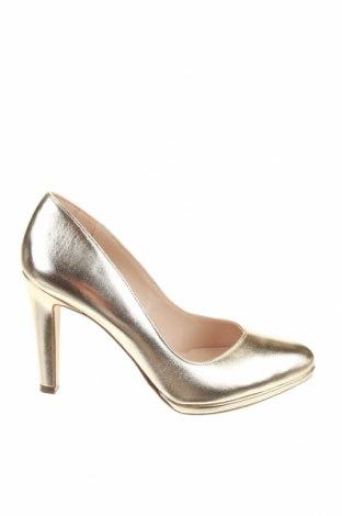 Γυναικεία παπούτσια Peter Kaiser, Μέγεθος 39, Χρώμα Χρυσαφί, Γνήσιο δέρμα, Τιμή 70,82€