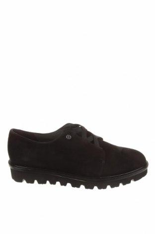 Γυναικεία παπούτσια Peter Kaiser, Μέγεθος 41, Χρώμα Μαύρο, Φυσικό σουέτ, Τιμή 70,82€