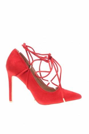 Дамски обувки Raid, Размер 40, Цвят Червен, Текстил, Цена 28,29лв.