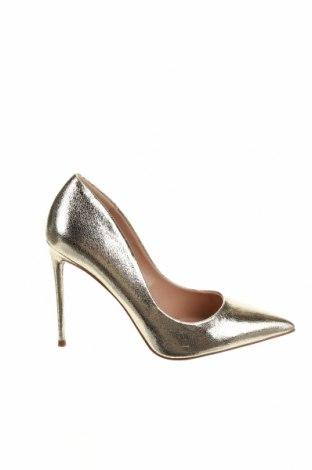 Γυναικεία παπούτσια Steve Madden, Μέγεθος 39, Χρώμα Χρυσαφί, Δερματίνη, Τιμή 59,23€