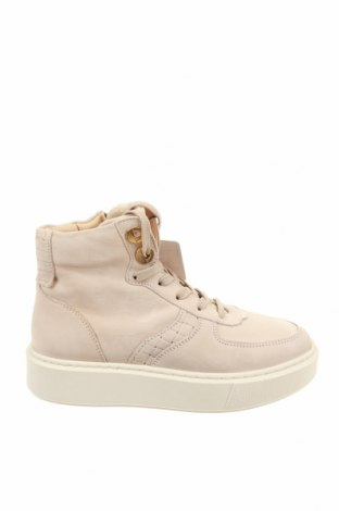 Γυναικεία παπούτσια Tamaris, Μέγεθος 36, Χρώμα  Μπέζ, Γνήσιο δέρμα, Τιμή 40,70€