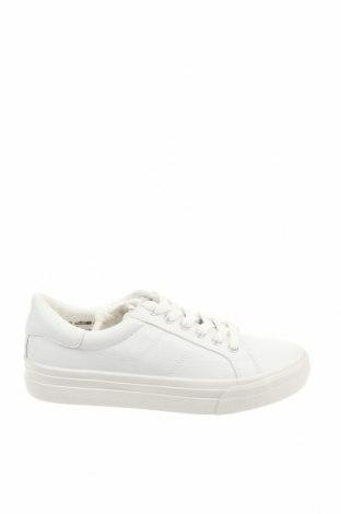 Дамски обувки Tamaris, Размер 41, Цвят Бял, Еко кожа, Цена 37,65лв.