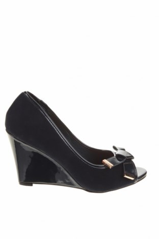 Γυναικεία παπούτσια Wallis, Μέγεθος 41, Χρώμα Μπλέ, Κλωστοϋφαντουργικά προϊόντα, δερματίνη, Τιμή 20,68€