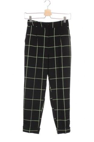 Γυναικείο παντελόνι ASOS, Μέγεθος XXS, Χρώμα Μαύρο, 98% βισκόζη, 2% πολυεστέρας, Τιμή 23,38€