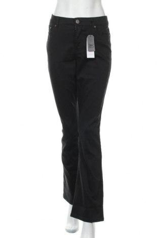 Γυναικείο παντελόνι Arizona, Μέγεθος L, Χρώμα Μαύρο, 72% βαμβάκι, 26% πολυεστέρας, 2% ελαστάνη, Τιμή 30,54€