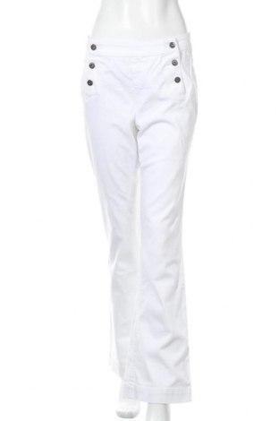 Γυναικείο παντελόνι Arizona, Μέγεθος L, Χρώμα Λευκό, 98% βαμβάκι, 2% ελαστάνη, Τιμή 27,84€