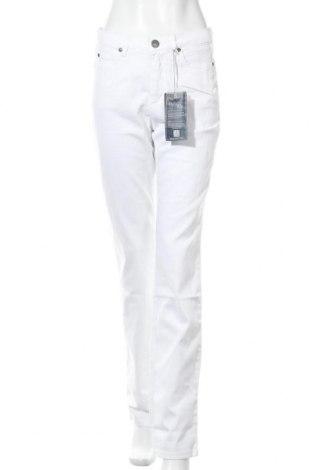 Γυναικείο παντελόνι Arizona, Μέγεθος M, Χρώμα Λευκό, 98% βαμβάκι, 2% ελαστάνη, Τιμή 29,73€
