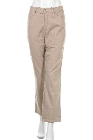 Γυναικείο παντελόνι Arizona, Μέγεθος M, Χρώμα  Μπέζ, 98% βαμβάκι, 2% ελαστάνη, Τιμή 30,54€