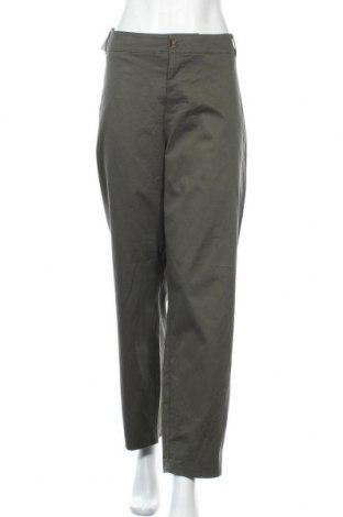 Дамски панталон Ava & Viv, Размер XXL, Цвят Зелен, 98% памук, 2% еластан, Цена 34,02лв.