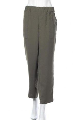 Дамски панталон Ava & Viv, Размер XXL, Цвят Зелен, Полиестер, Цена 7,85лв.