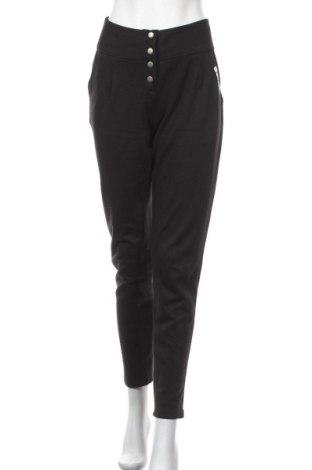Γυναικείο παντελόνι Bench, Μέγεθος S, Χρώμα Μαύρο, 60% βαμβάκι, 40% πολυεστέρας, Τιμή 24,08€