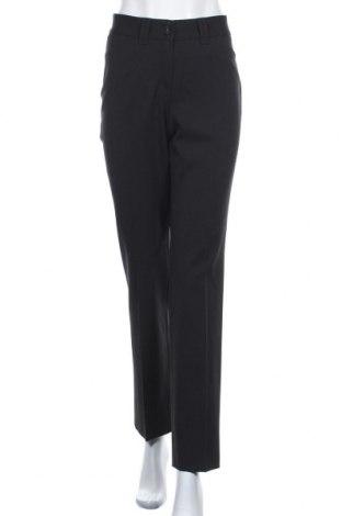Дамски панталон Brax, Размер M, Цвят Черен, 53% полиестер, 43% вълна, 4% еластан, Цена 117,60лв.