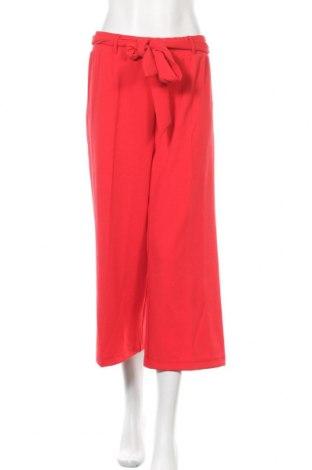Дамски панталон Bruno Banani, Размер L, Цвят Червен, 96% полиестер, 4% еластан, Цена 21,81лв.
