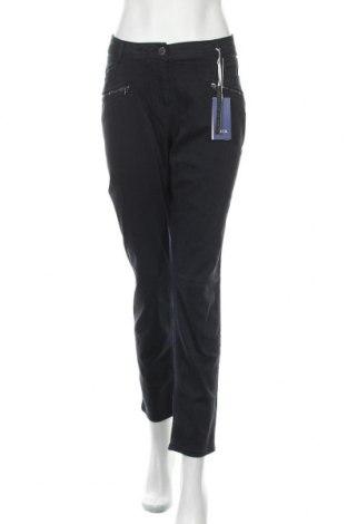 Γυναικείο παντελόνι Cecil, Μέγεθος XL, Χρώμα Μπλέ, 63% βαμβάκι, 34% βισκόζη, 3% ελαστάνη, Τιμή 21,08€