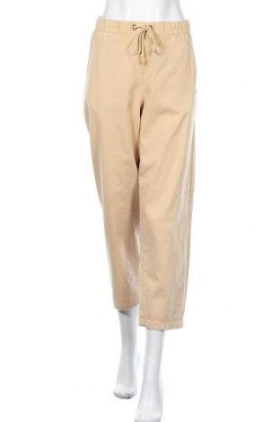 Дамски панталон Champion, Размер M, Цвят Бежов, Памук, Цена 38,08лв.