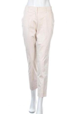 Γυναικείο παντελόνι Cinque, Μέγεθος L, Χρώμα  Μπέζ, 67% βαμβάκι, 29% πολυεστέρας, 4% ελαστάνη, Τιμή 24,16€