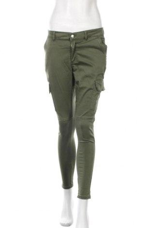 Γυναικείο παντελόνι Denim Co, Μέγεθος M, Χρώμα Πράσινο, 58% βαμβάκι, 38% πολυεστέρας, 4% ελαστάνη, Τιμή 16,24€