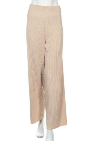 Дамски панталон Edited, Размер L, Цвят Бежов, Полиестер, Цена 32,40лв.