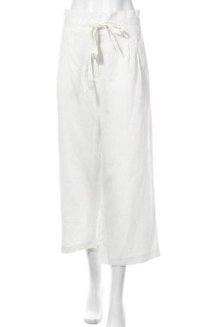 Γυναικείο παντελόνι Forever New, Μέγεθος XL, Χρώμα Λευκό, 65% lyocell, 35% λινό, Τιμή 16,08€