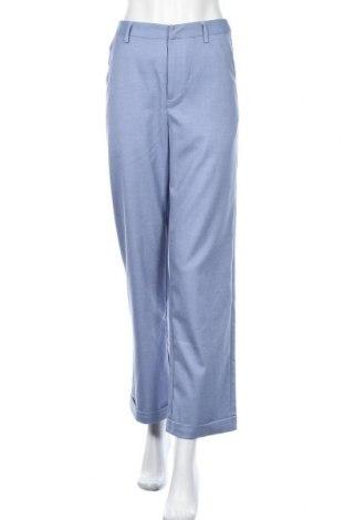 Γυναικείο παντελόνι Gestuz, Μέγεθος XS, Χρώμα Μπλέ, 65% πολυεστέρας, 32% βισκόζη, 3% ελαστάνη, Τιμή 23,07€