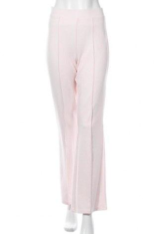 Γυναικείο παντελόνι Gina Tricot, Μέγεθος S, Χρώμα Ρόζ , 96% πολυεστέρας, 4% ελαστάνη, Τιμή 19,56€